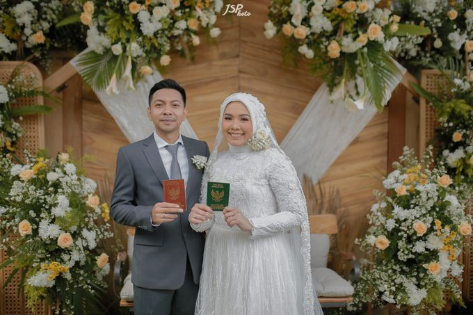 The Wedding of Dila & Imam di Villa Vii by Decor Everywhere - 035