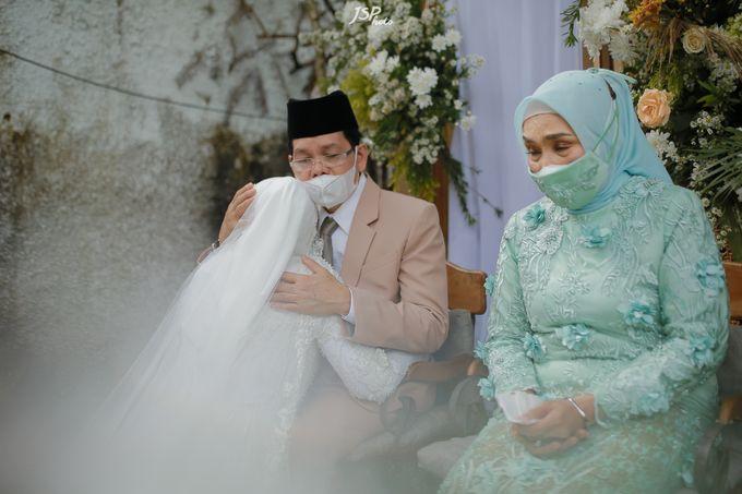The Wedding of Dila & Imam di Villa Vii by Decor Everywhere - 038