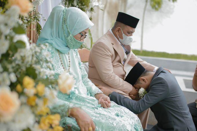 The Wedding of Dila & Imam di Villa Vii by Decor Everywhere - 039