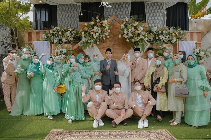 The Wedding of Dila & Imam di Villa Vii by Decor Everywhere - 029