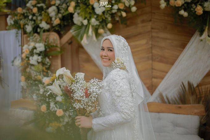 The Wedding of Dila & Imam di Villa Vii by Decor Everywhere - 040