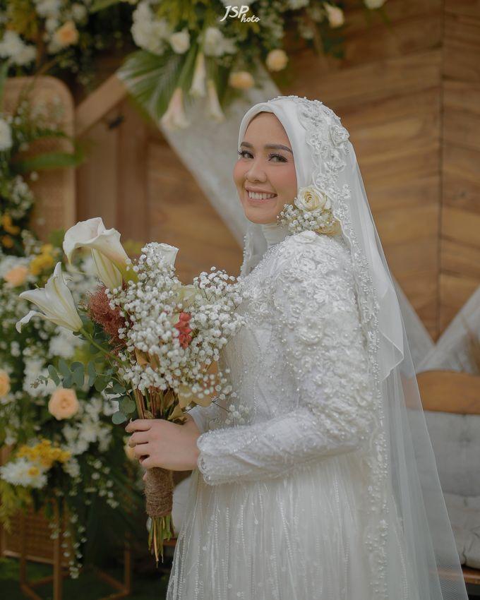 The Wedding of Dila & Imam di Villa Vii by Decor Everywhere - 041