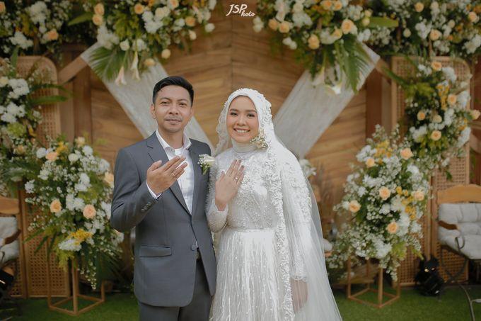 The Wedding of Dila & Imam di Villa Vii by Decor Everywhere - 042