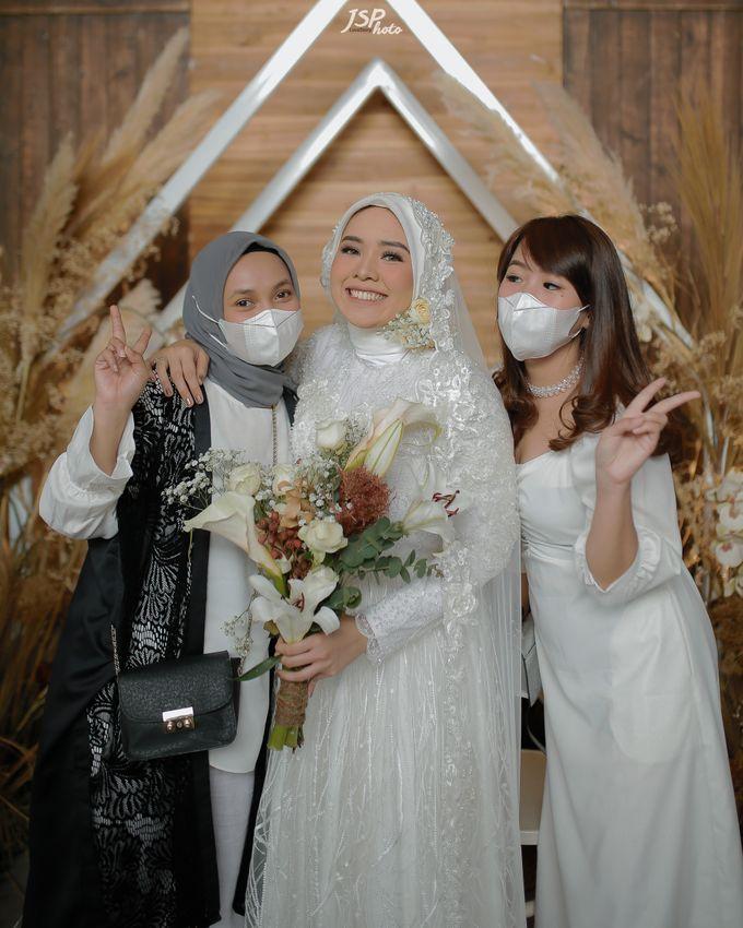 The Wedding of Dila & Imam di Villa Vii by Decor Everywhere - 045
