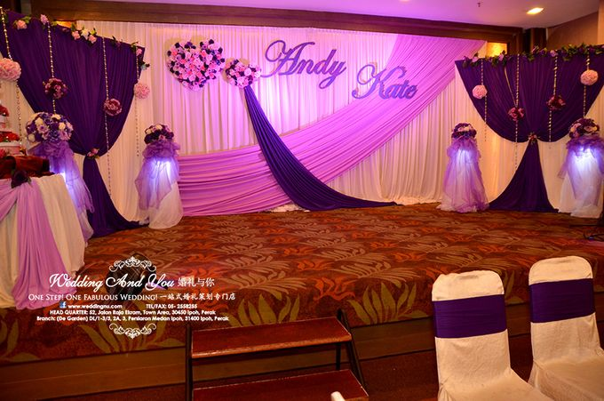 Stage Backdrop Design By Wedding And You Bridestorycom
