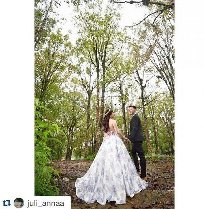 Prewedding Gown by Stephanie Amanda Couture - 001
