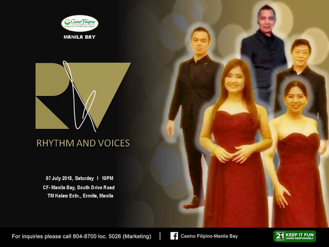 RHYTHM AND VOICES LIVE at CASINO FILIPINO MANILA BAY by RHYTHM AND VOICES MUSIC - 001