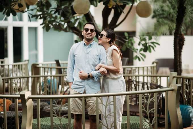 Prewedding of Steven & Betsy at Ayana Midplaza Jakarta by AYANA Midplaza JAKARTA - 029