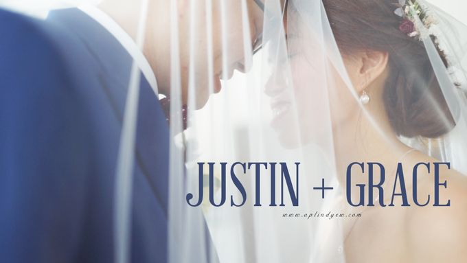 Justin & Grace - Church Wedding Actual Day Cinematic Video by Aplind Yew Production - Wedding Cinematography & Photography - 001