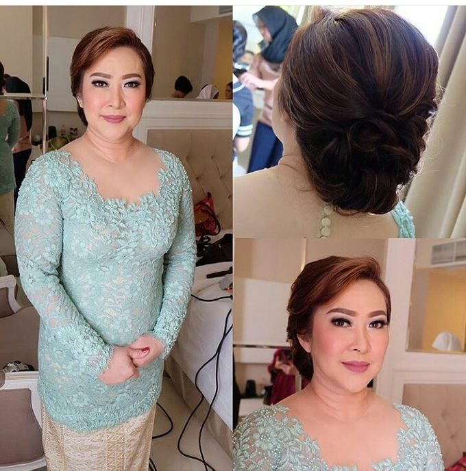 Hairdo Mom Bride by Makeup And Hairdo By iis - 002