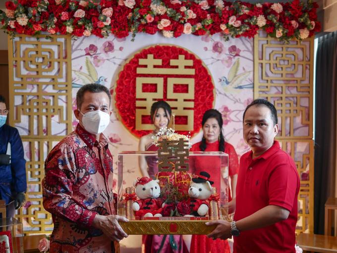 Sangjit Ceremony Devi Huang by JY Sangjit Box.id - 011
