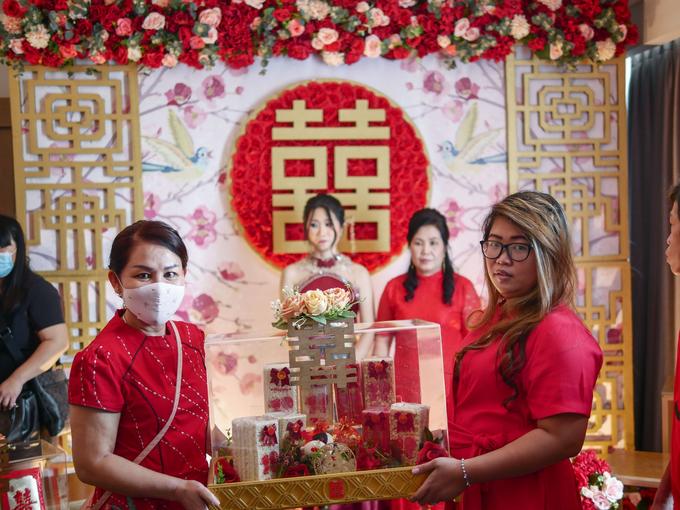 Sangjit Ceremony Devi Huang by JY Sangjit Box.id - 012