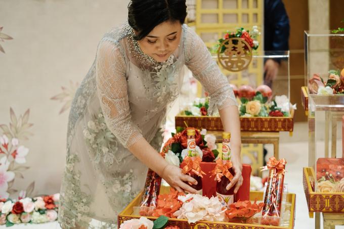Sangjit Ceremony Aditya & Jessica  by JY Sangjit Box.id - 034