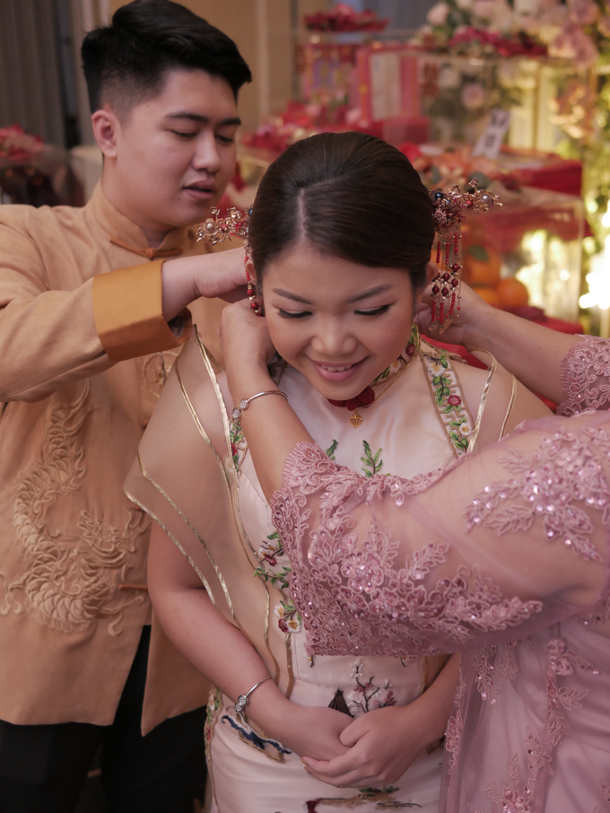 Sangjit Ceremony Evan & Jessica by JY Sangjit Box.id - 022