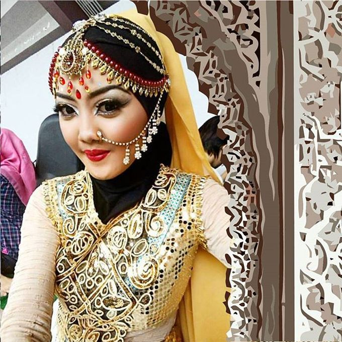 Hindi Indian Wedding Makeup by ESTATE | Bridestory com