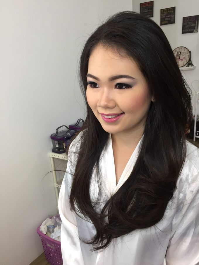 Wedding Makeup Trial For Ms. Yuli by Chesara Makeup - 002