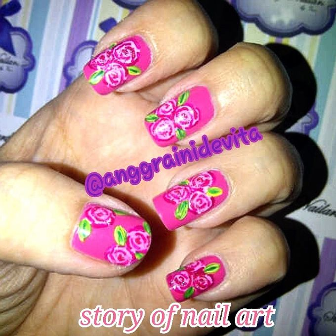 Painting Nails by Story of Nailart - 005