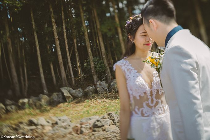 Sheryl+Amos Jeju Pre-wedding by Eric Oh  Korean Photographer - 004