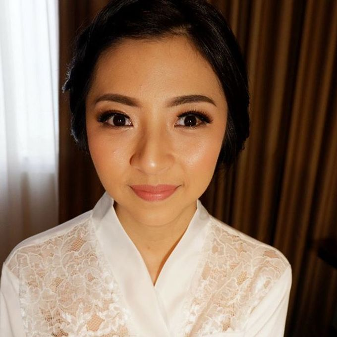 Glowing Makeup For Bridesmaids by MakeupbyDeviafebriani - 005