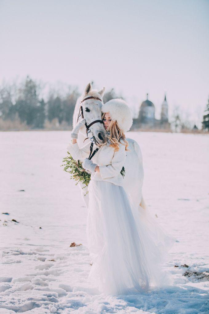 Wedding In Gzhel Style by Marina Nazarova Photographer - 028