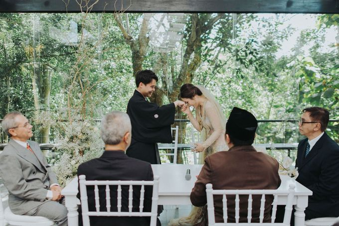 Sho & Vanda Real Wedding Story by Tirtha Bridal - 022