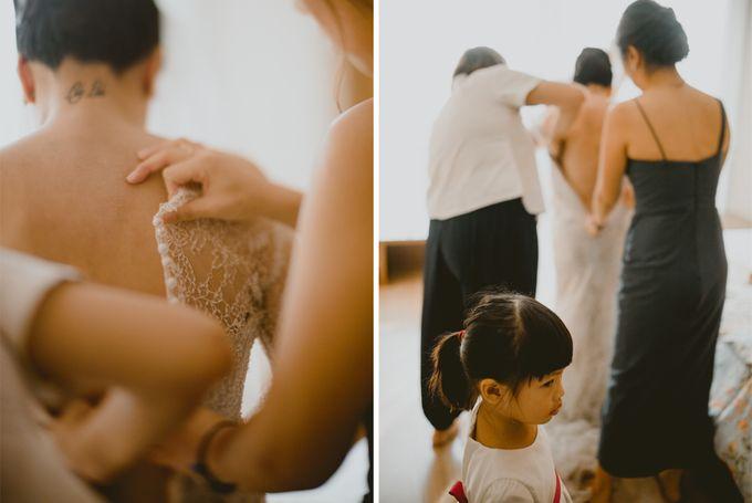 Karlina & Ariyanto Wedding Ceremony by ATIPATTRA - 004