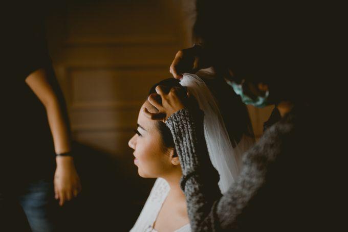 Karlina & Ariyanto Wedding Ceremony by ATIPATTRA - 003