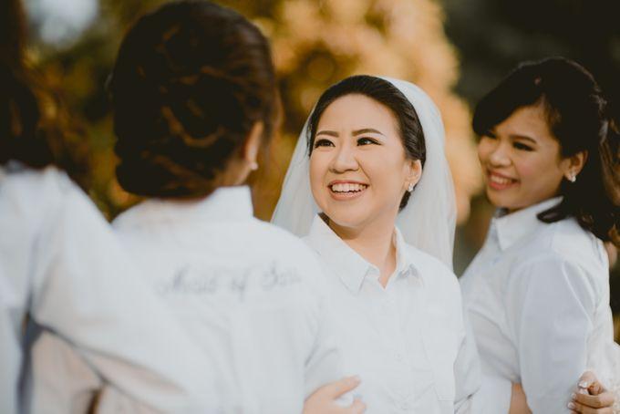 Karlina & Ariyanto Wedding Ceremony by ATIPATTRA - 011