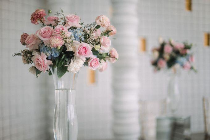 Howard & Vina Wedding Decoration by De Sketsa Group by Lona Makeup - 006