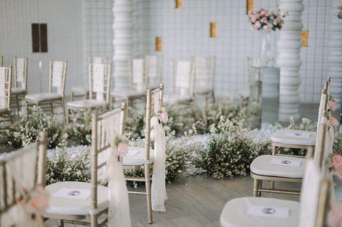 Howard & Vina Wedding Decoration by De Sketsa Group by Lona Makeup - 007
