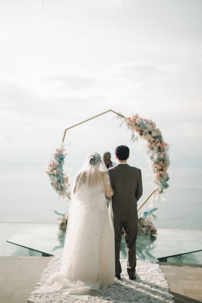 HOWARD and VINA Wedding by Lona Makeup - 009