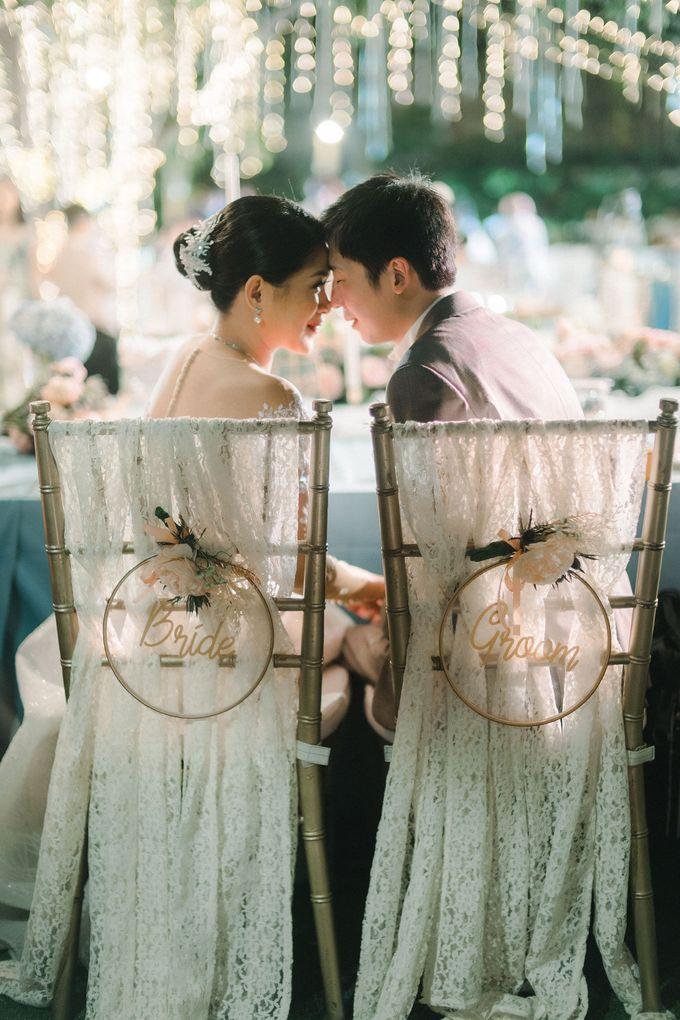 Howard & Vina Wedding Decoration by De Sketsa Group by Lona Makeup - 001