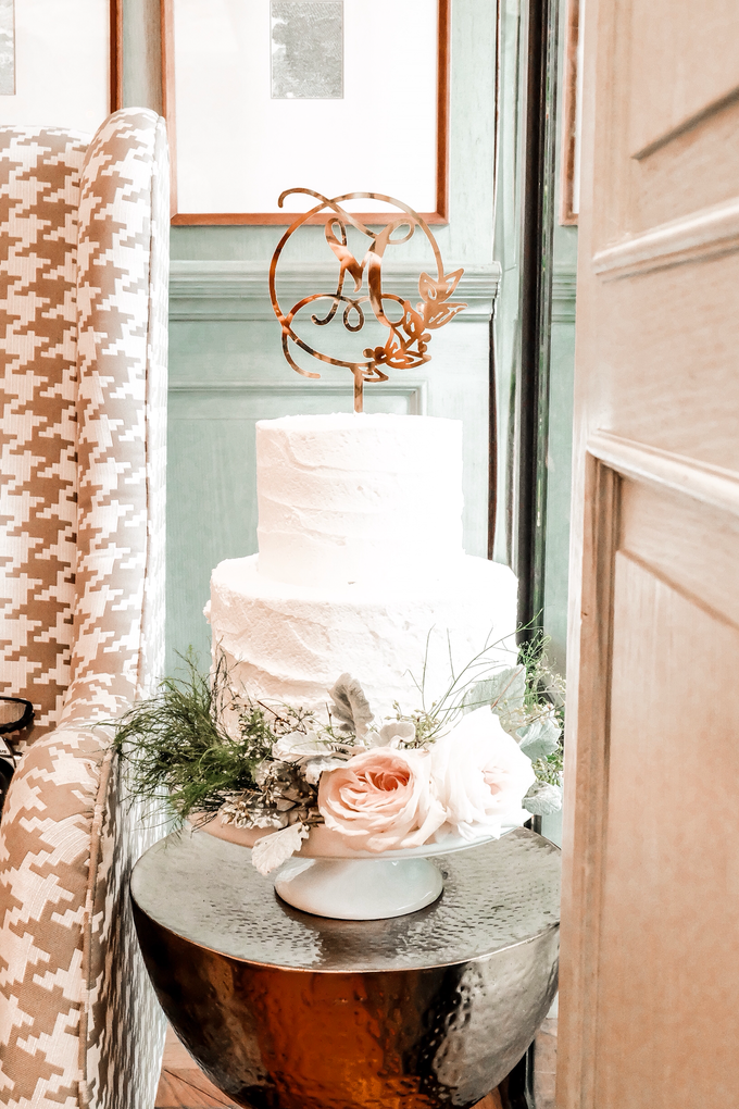 Madeline's Bridal Shower Cake and dessert table by KAIA Cakes & Co. - 014