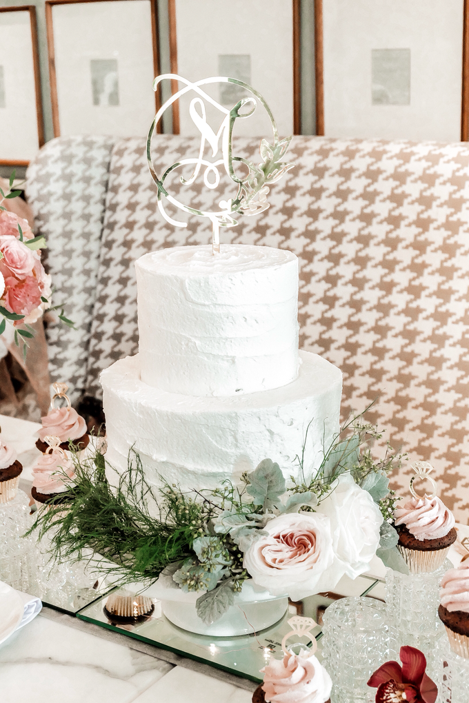 Madeline's Bridal Shower Cake and dessert table by KAIA Cakes & Co. - 018