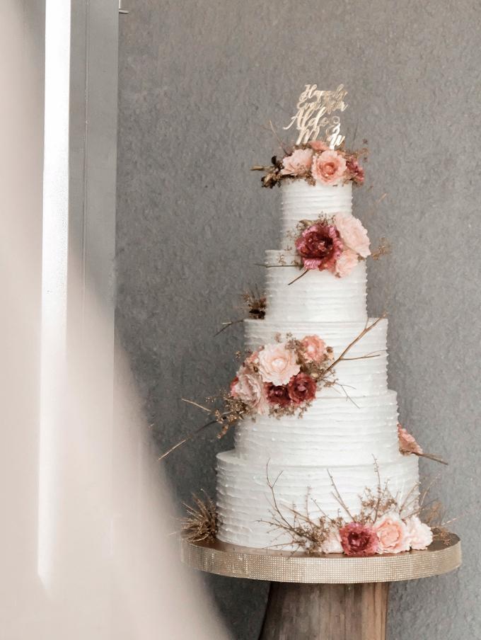 The Wedding of Aldo & Mimi by KAIA Cakes & Co. - 006