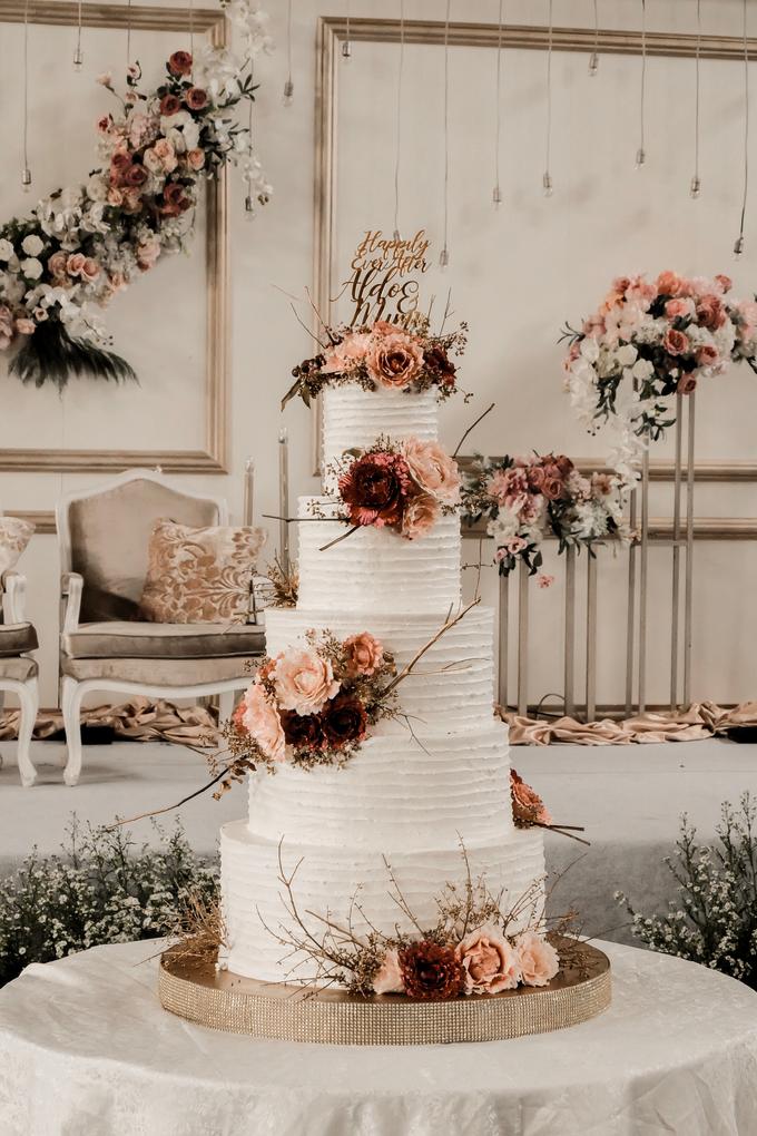 The Wedding of Aldo & Mimi by KAIA Cakes & Co. - 007