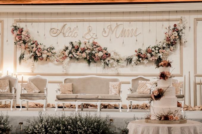 The Wedding of Aldo & Mimi by KAIA Cakes & Co. - 010