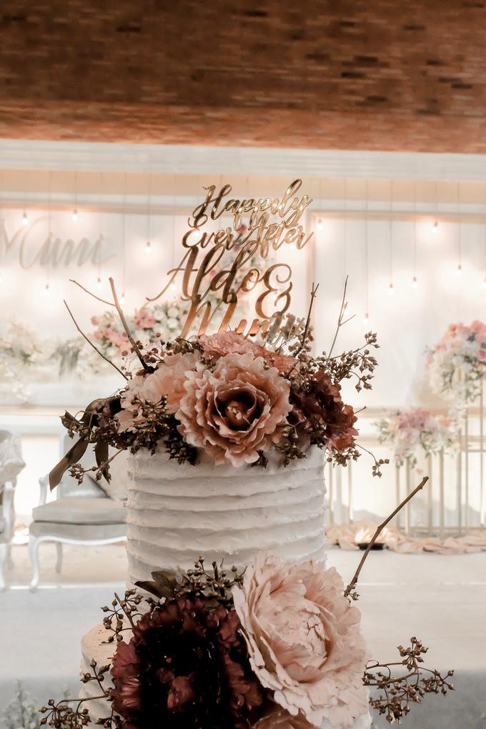 The Wedding of Aldo & Mimi by KAIA Cakes & Co. - 011