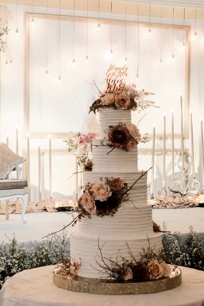 The Wedding of Aldo & Mimi by KAIA Cakes & Co. - 013
