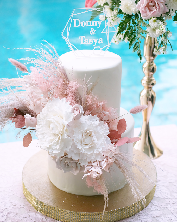 The Wedding of Donny & Tasya by KAIA Cakes & Co. - 003