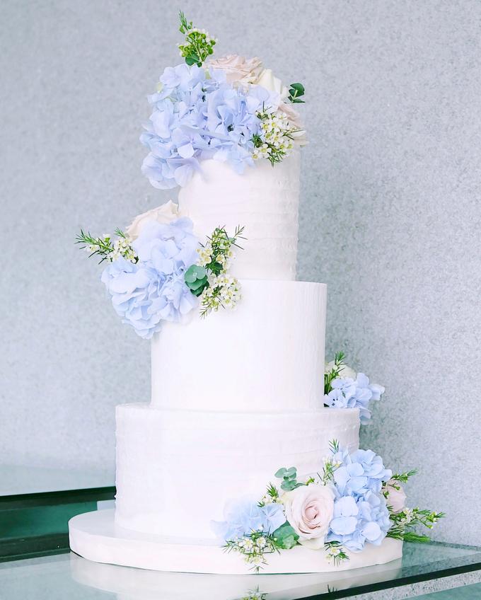 The Wedding of Nicho & Frieska  by KAIA Cakes & Co. - 001