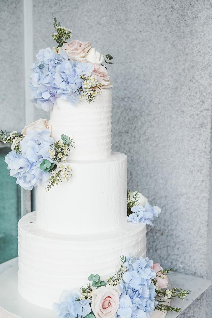 The Wedding of Nicho & Frieska  by KAIA Cakes & Co. - 004