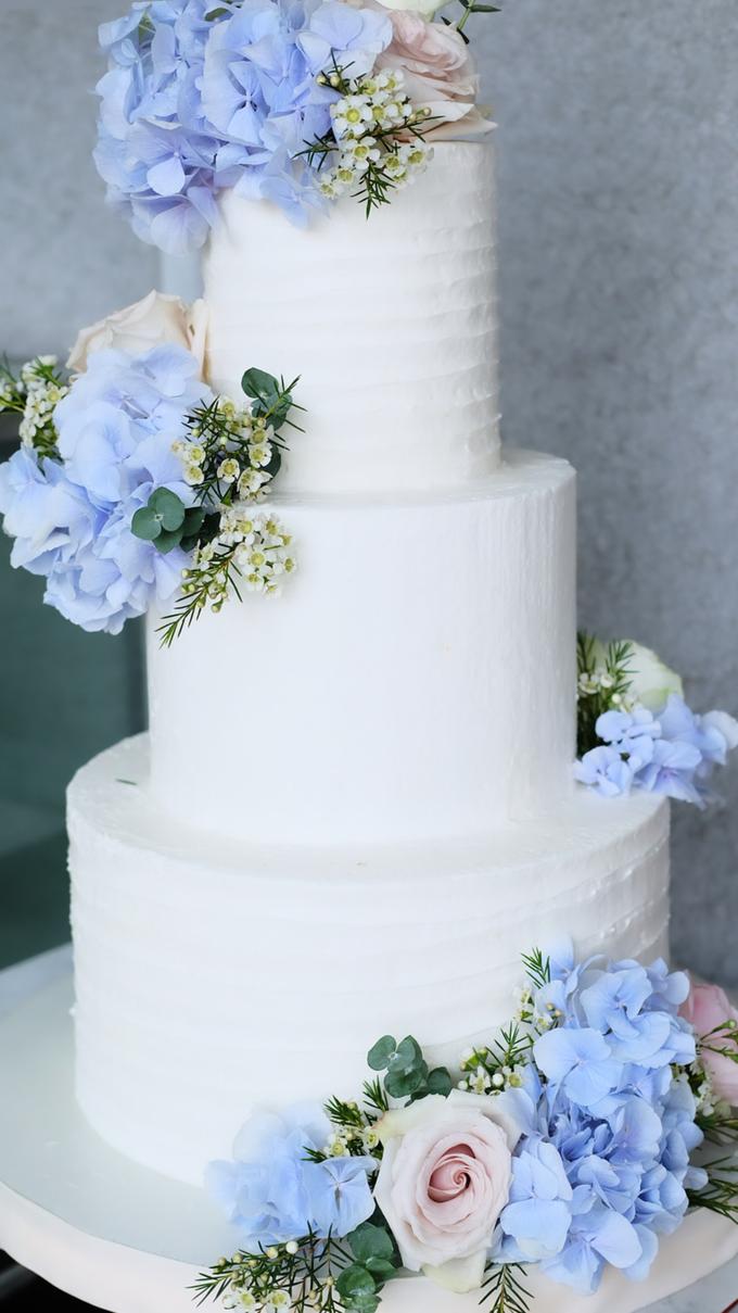 The Wedding of Nicho & Frieska  by KAIA Cakes & Co. - 006