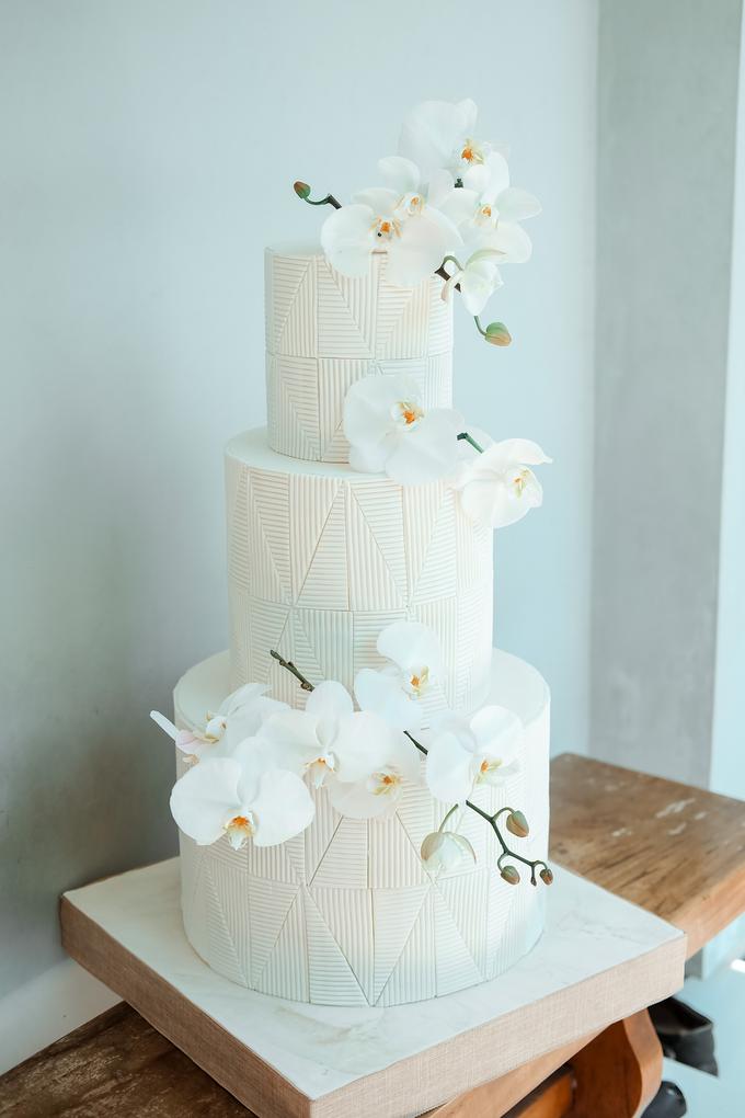 The Wedding of James & Monika by KAIA Cakes & Co. - 019
