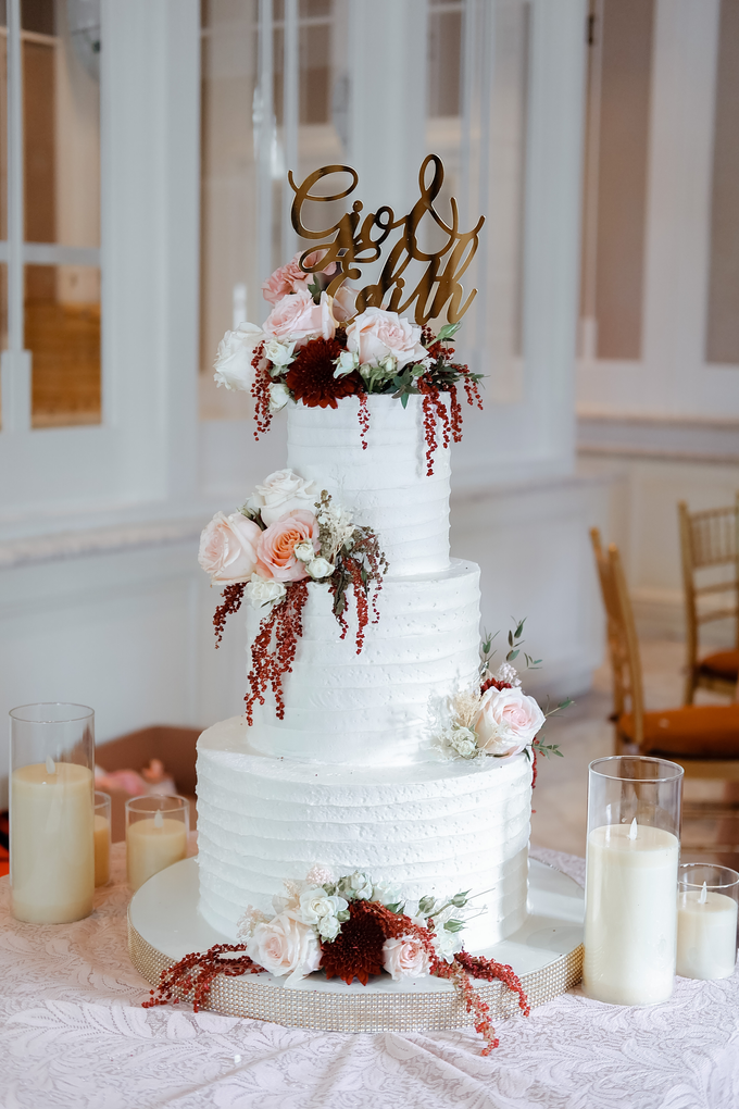 The Wedding of Giovanni & Edith  by KAIA Cakes & Co. - 002