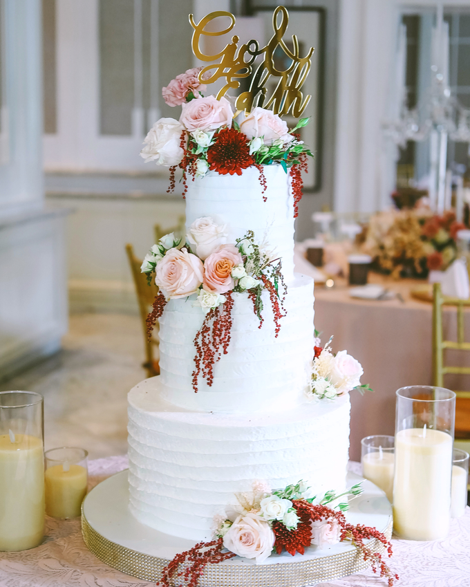 The Wedding of Giovanni & Edith  by KAIA Cakes & Co. - 008