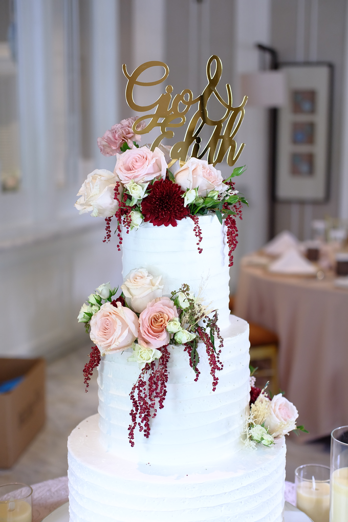 The Wedding of Giovanni & Edith  by KAIA Cakes & Co. - 009