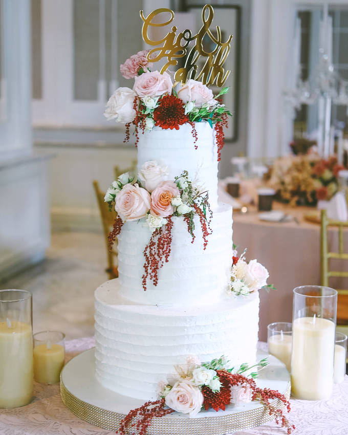 The Wedding of Giovanni & Edith  by KAIA Cakes & Co. - 012