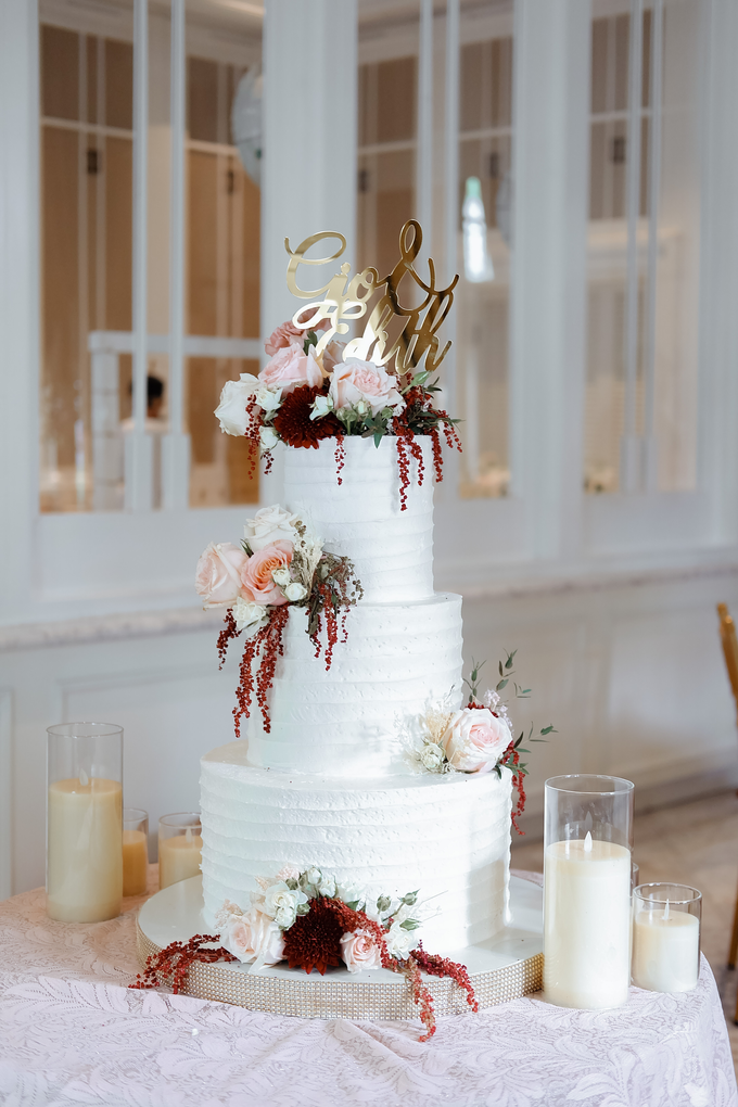 The Wedding of Giovanni & Edith  by KAIA Cakes & Co. - 013