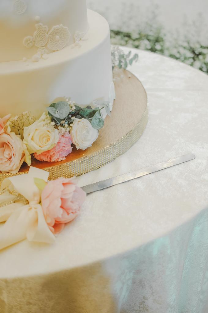 The wedding of Alexius & Henni by KAIA Cakes & Co. - 016